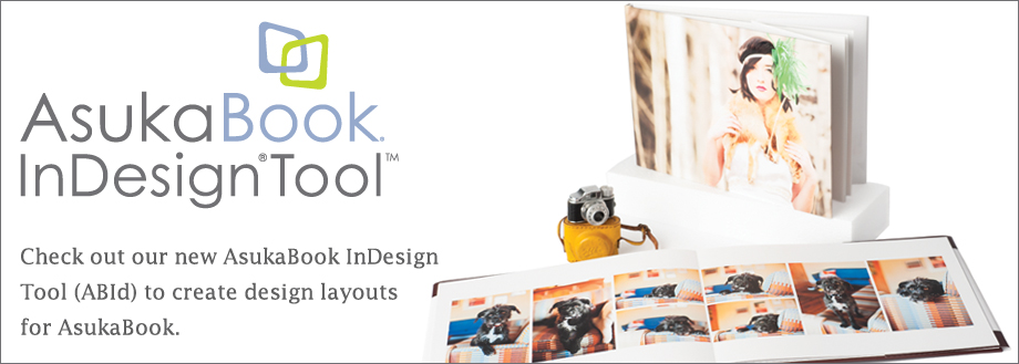 AsukaBook InDesign Tool banner