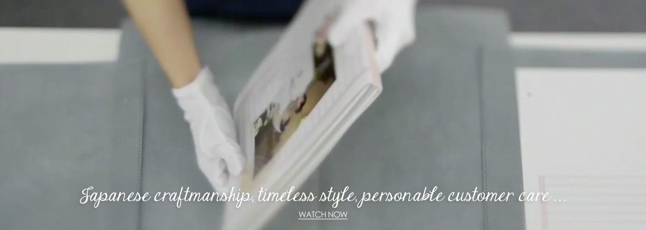AsukaBoook Japanese craftmanship, timeless style, personalble customer service video