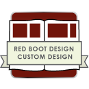 Red Boot Design Custom Book Design for AsukaBook icon