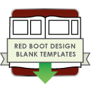 Red Boot Design Book Templates for AsukaBook icon