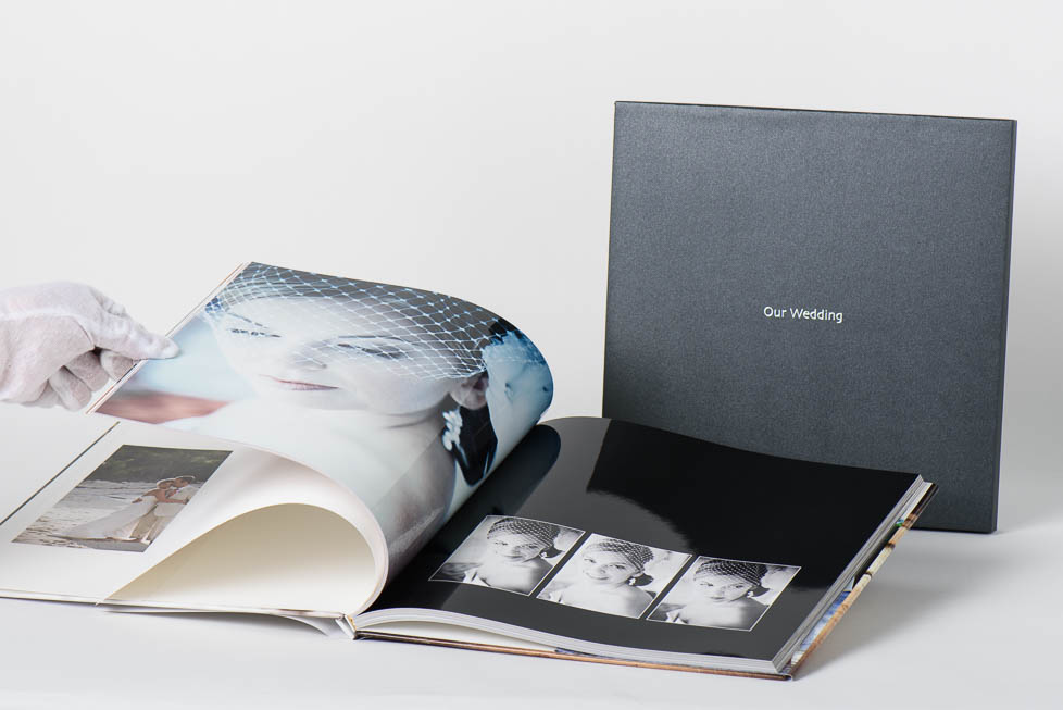 AsukaBook Book Bound EX Photo Book with black case