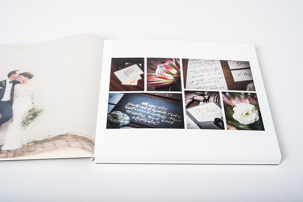 AsukaBook Crystal Photo Album Printed vellum and first page