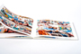 AsukaBook Crystal Photo Album Thin synthetic paper option