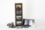 Large and small print frames with Gallery Boxes