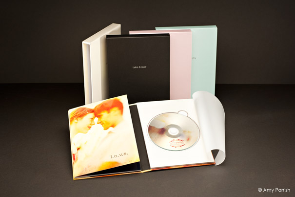 DVD Presentation Box with 10 side book!