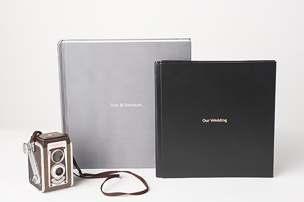 AsukaBook NeoClassic Book Flush Mount Photo Album Cover detail