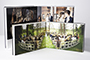 AsukaBook NeoClassic Book Flush Mount Photo Album Complete package