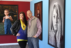Chris Garner and Cathy Yount of TPS Photography